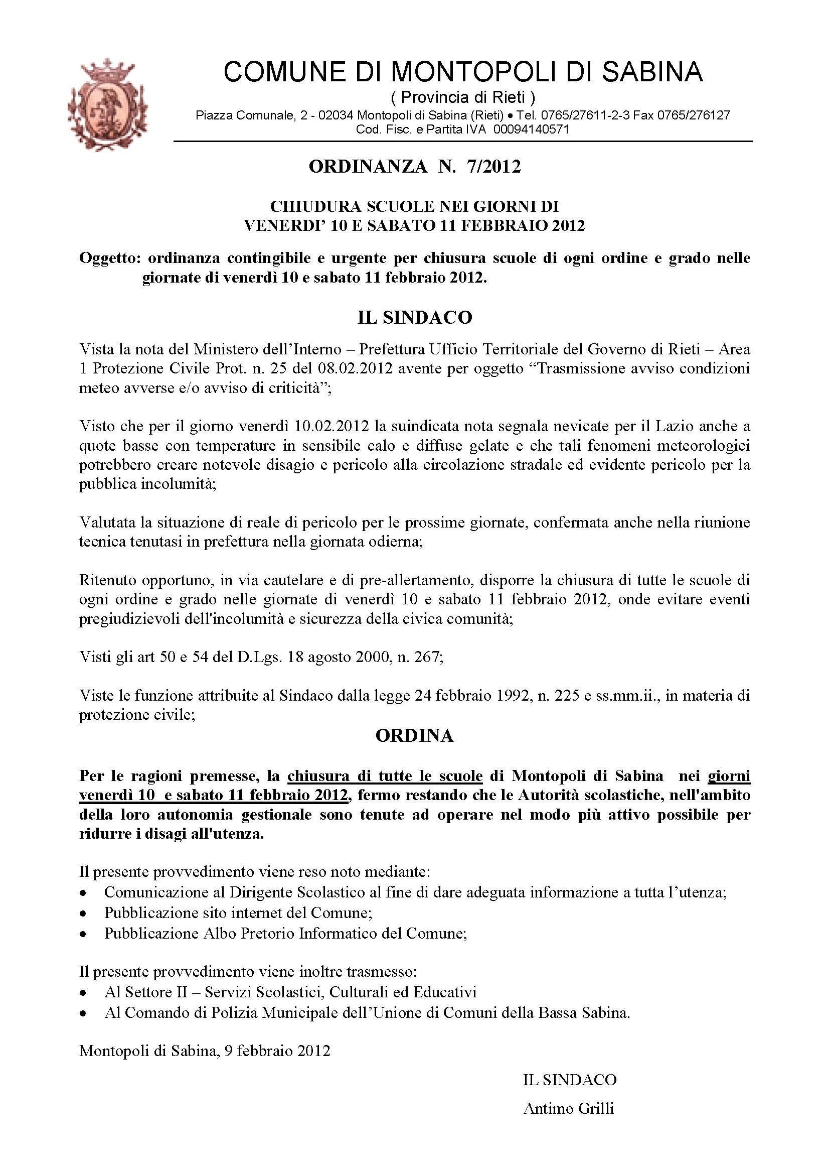 Comune Di Montopoli Di Sabina news - comune di montopoli sabina